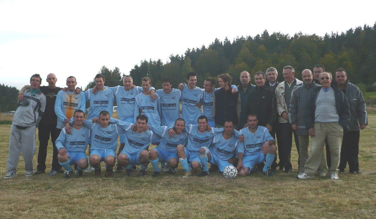 Inauguration du terrain de foot de Rocles