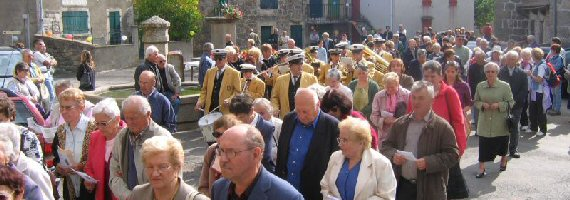 Photo fête sainte thècle 2005 procession
